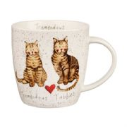 Alex Clark Tremendous Tabbies Cat Mug